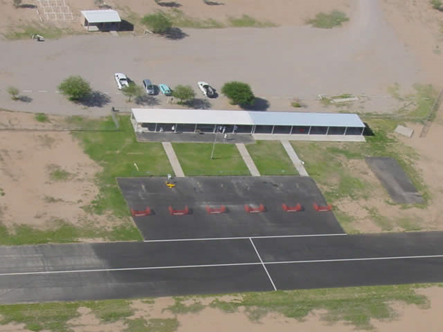 TIMPA airfield in tucson