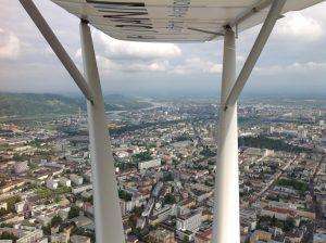 Above the roofs of Linz