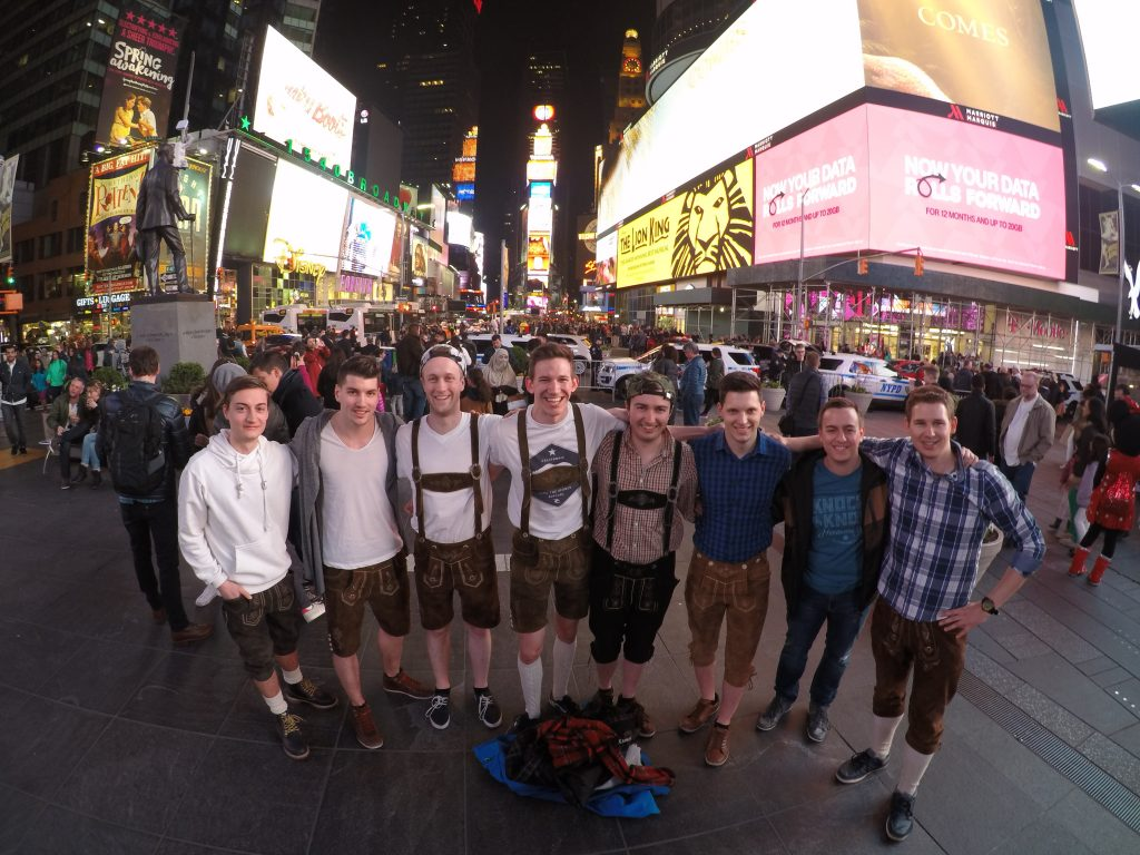 Making Times Square a little bit crazier