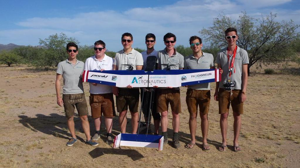 The joanneum Aeronautics team at the DBF15